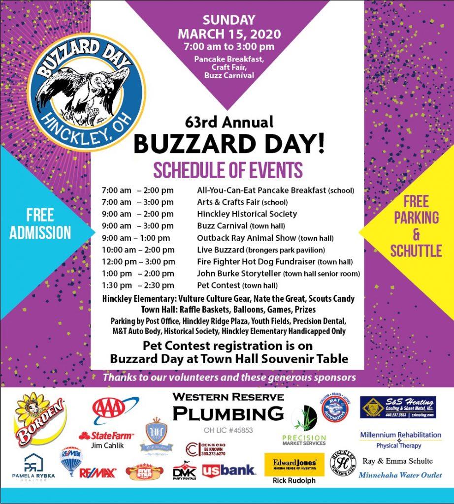2020 63rd Annual Buzzard Day Hinckley OH